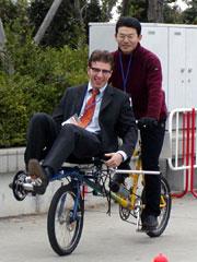 自転車の 自転車 試乗 東京 : 2002 タンデム・サイクリングの ...